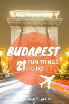 Traveling to Europe? Don't overlook Budapest! Fun fact: Budapest is actually two cities, Buda and Pest which are divided by the Danube River. each side of Budapest has several tourist attractions and each is very different. We suggest spending at least 3 days in Budapest. There are a ton of things to do in Budapest but as an added bonus Budapest is super affordable || Getting Stamped - Couple Travel & Photography Blog