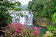 Shifen Waterfall, New Taipei, #Taiwan