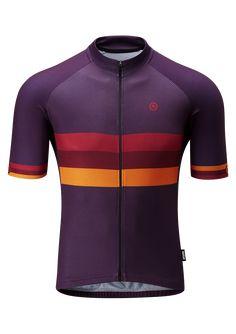 Club Jersey Stripe - Short Sleeve Jerseys - Men Cycling Outfit 5a314f476