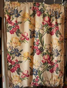 Your place to buy and sell all things handmade Iris Flowers, Panel Curtains, Couture, 1940s, All Things, Sewing Projects, Textiles, Handmade, Raisin
