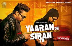 Yaaran De Siran Te is new song of Nishawn Bhullar from his upcoming album. Listen and Download all New Latest Punjabi Songs without paying a penny. Download New Punjabi Songs from Direct Links without any Subscription or Registration.