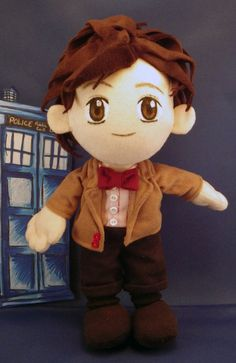 11th Doctor Squishable Action Figure by NickolasBanuelos on Etsy, $100.00