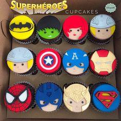 Cupcakes Superhéroes Medellín by Giovanna Carrillo