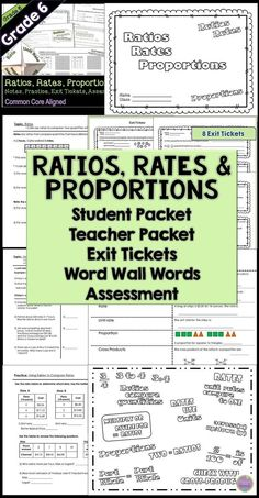 Unit rates with complex fractions cut and paste worksheet do you need notes homework exit tickets and more for your ratios rates fandeluxe Images