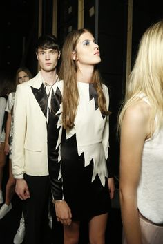 Backstage at Marc by Marc Jacobs RTW Spring 2014