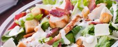 Prepared salad with mayonnaise and cheese - foods that appear to be healthy but aren't!