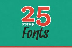 25 Latest Free Fonts for Professional Designers