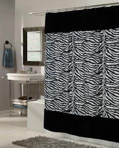 Savannah Shower Curtain with Liner