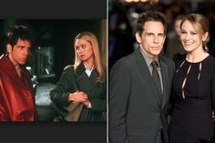Movie Couples Who Dated (or Got Married) in Real Life - Ben Stiller and Christine Taylor Movie: Zoolander Length of relationship: 1999-present Married: May 2000