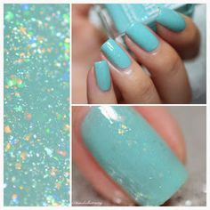 MissBellaTracey: Pirouette Flakies Collection by Glam Polish