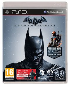 You've experienced the terror and mayhem of Batman: Arkham Asylum. You've battled Gotham's most sinister, lethal and forbidding villains in Batman: Arkh. Batman Arkham City, Batman Arkham Origins, Gotham City, Batman Comic Art, Comic Book Superheroes, Batman Comics, Comic Books, Deathstroke, Game Boy