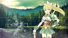 Leafa (Suguha) - By Sword Art Online ღ Asuna, Leafa Sword Art Online, Tous Les Anime, Sao Ggo, Sword Art Online Wallpaper, Online Anime, Tokyo Ghoul, Princess Zelda, Animation