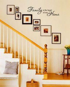Dekorieren Treppe Wand #Wand