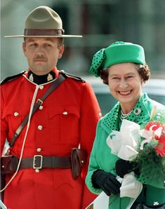 HM Queen Elizabeth ll arrives in Moncton for a two-week visit to Canada - September 24, 1984