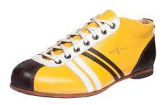 Zeha Berlin - Carl Hässner - Liga - 855.59 -  vintage retro old  football shoes - yellow - giallo - oro - Gelb - mais - sun - the DDR inspired 100 % leather sneaker - made in EU   www.zeha-shop.de