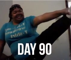 See how this woman changed her life by working out everyday for 100 days!  Fitness