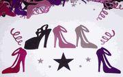 shoe confetti