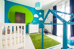 Moroccan Berber Rug, Cool Gear, Kid Spaces, Blue Yellow, Playroom, The Help, Toddler Bed, Kids Room, Bohemian Rug
