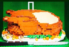 From Pizza to Pie, the Most Delicious (-Looking) Lego Food Creations Ever