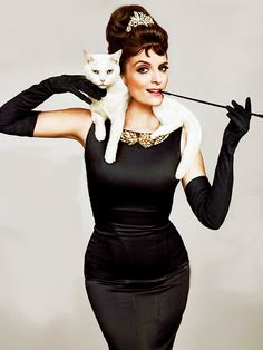 oh nothing, just Tina Fey as Holly Golightly. NBD