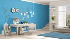 Cleaning tips, tricks and guides. Read or newest housekeeping articles and save time and money on cleaning your house, condo or office. Home Office, Office Decor, Minimalist Furniture, Interiores Design, Cleaning Hacks, Furniture Design, Things To Come, Toque, Home Decor