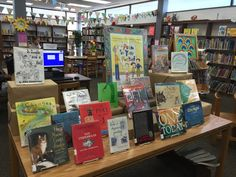 National Poetry Month display 2016