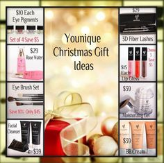Christmas will be here before we know it!!! Younique has some great gift ideas! Check it out!  https://www.youniqueproducts.com/DesireeMendoza