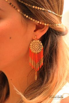 Boucles d'oreille Dreamcatcher