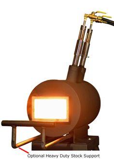 Gas forge - Habanero two burner forge - chileforge.com