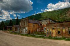 St. Elmo, Colorado. preserved ghost town