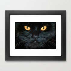 BLACK MAGIC Framed Art Print by catspaws - $37.00