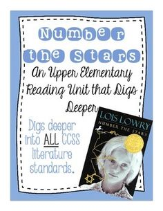 Number the Stars Reading Unit Novel Study