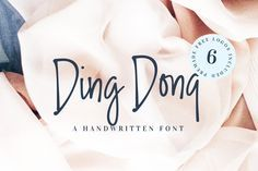 Ding Dong Handwritte