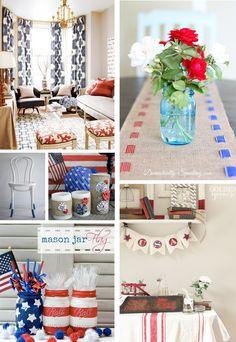 4th of July 1 Patriotic DIY + Decor Inspiration