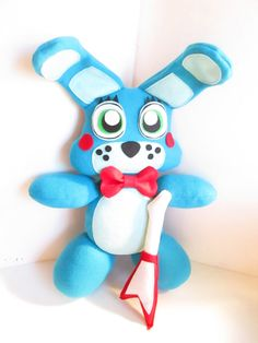Toy Bonnie Plush Inspired by Five Nights at Freddy's (Unofficial) FNAF