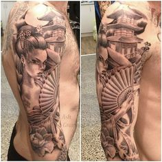 geisha girl tattoo - Google Search