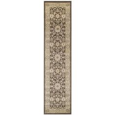 Charlton Home Lavelle Brown / Ivory Area Rug Rug Size:
