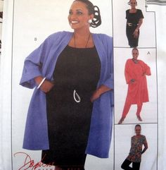 McCALLS SEWING PATTERN - 8568  Size 12,14,16 JACKET PULLON PANTS TOP