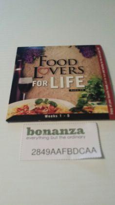 Food Lovers for Life 2 Disk Audio CD  Weeks 1-5