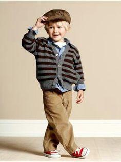 Too cute! Love the European look in little boy fashion- grayson