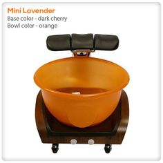 pedicure+bowls | Mini Lavender pedicure spa tub @ SpaSalon.us