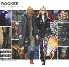 ROCKER      Authentic elements of 90s grunge and 70s punk collide to form Rocker. Sleek leathers and destroyed denim are the defining mat...