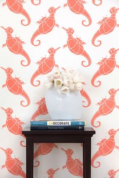 seahorse wallpaper for kids room - Google Search