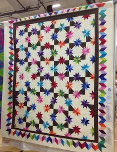 Hunter star quilt