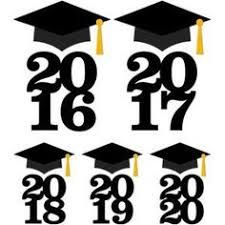 Image result for free printable 2018 graduation shape template
