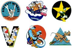 LOVE these WWII Disney pins