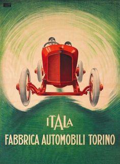 Vintage Italian Posters ~ #Vintage #Italian #posters ~ © www.mepiemont.net
