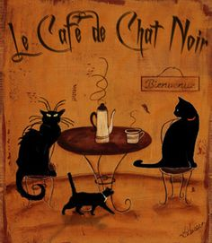 Le Cafe Chat Noir
