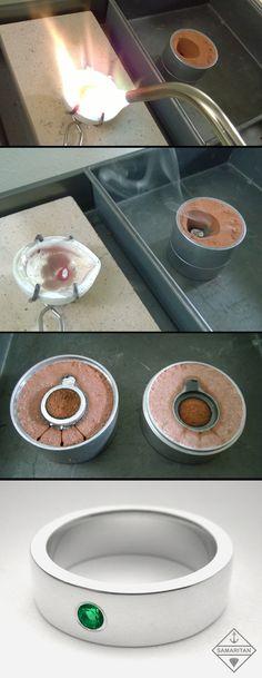Using the ancient art of sand casting to make beautiful handmade jewelry. Samaritan Jewelers at https://www.etsy.com/shop/SamaritanJewelers