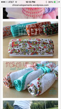 Use idea for burb rags